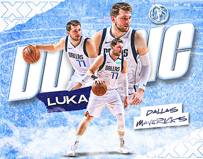 Luka Doncic Projects Photos Videos Logos Illustrations And Branding On Behance