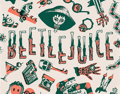 Beetlejuice - Illustrated Icons