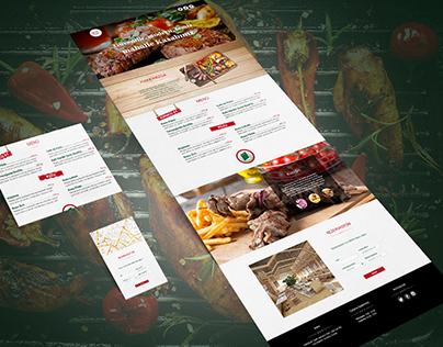Grill Web Design