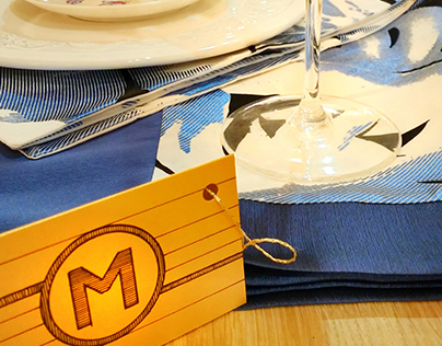 RANERS - decorative tablecloths and napkins