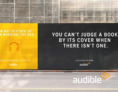 Live Outside The Book - Campaign Concept