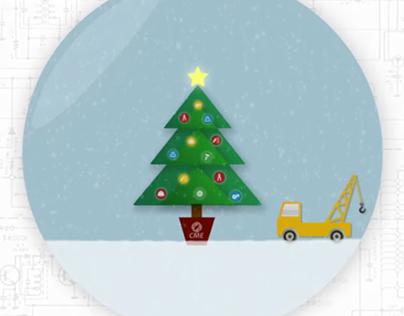 Holiday Card Animation