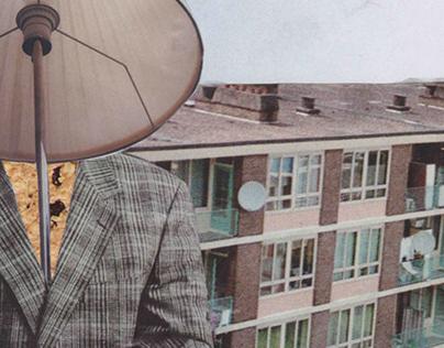 Observer le béton urbain - Collage