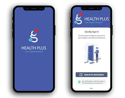 Digital Hospital App Design concept