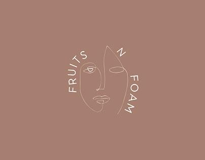 Fruits N Foam - A visual identity branding