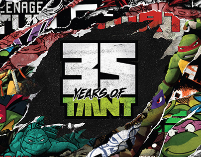 35 Years of TMNT Branding Guide