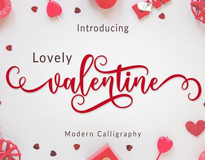 Lovely Valentine Font