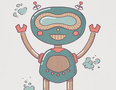 ILLUSTRATION: #marchofrobots Illustration Prompt