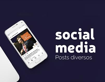 Redes Sociais - Posts diversos