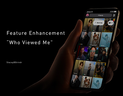 """Grindr - """"Who Viewed Me"""" Enhancement"""