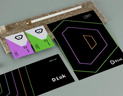 Disk Brand Identity Design.