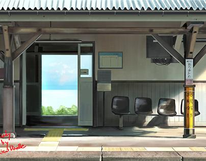 Japan railway station study