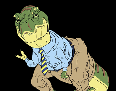 """Rex"" Adobe Character Animator Project"