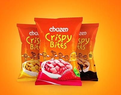 Chozen-Crispy Bites-Package Design.