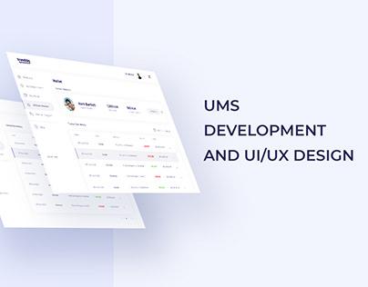 User Management System Development and UI/UX Design