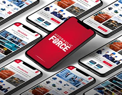 Hydraulic Force | App Desing