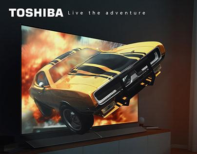 TOSHIBA - Advertising