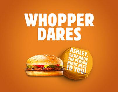 Burger King - Whopper Dares