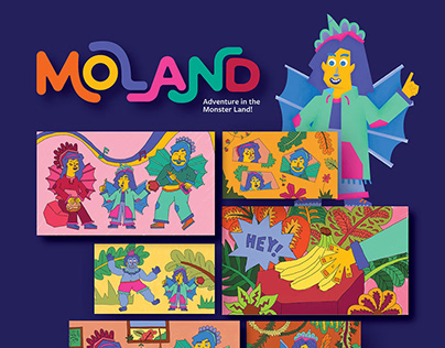MOLAND - Monster Land Storybook