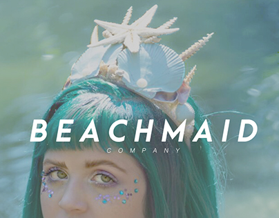 BEACHMAID Branding // Online Clothing Store