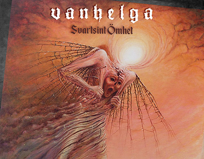 """POSTER FOR THE GROUP """"VANHELGA"""""""