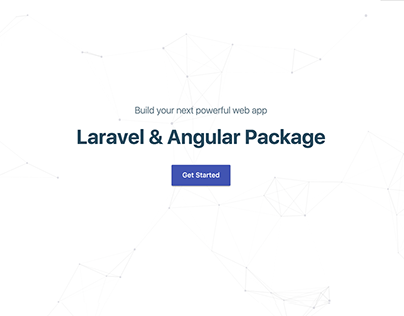 Laravel & Angular Package | Branding & Website