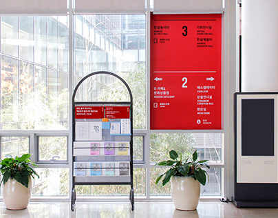 The National Hangeul Museum,Signage System