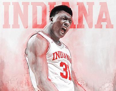 2016-17 IU Basketball Posters