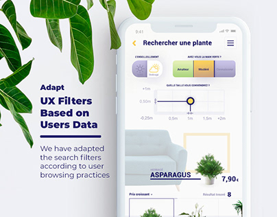 UX Innovative Filters