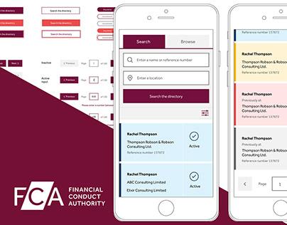FCA: FINANCIAL SERVICES REGISTER