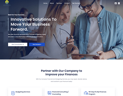 Financial Consulting and Counselling Website