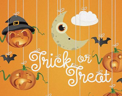 Halloween Child illustration on fotolia