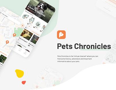 Pets Chronicles   Designflow 2020