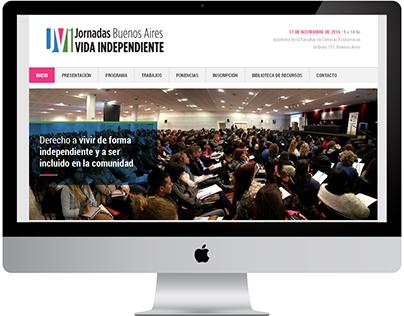 Jornada de Vida Independiente Buenos Aires 2016