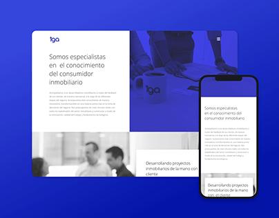 Diseño sitio web · UI