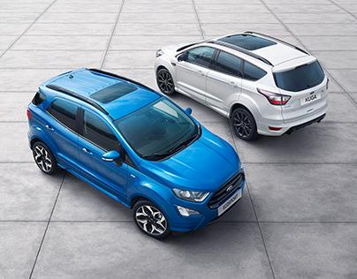 Ford Ecosport & Kuga Retouch Work