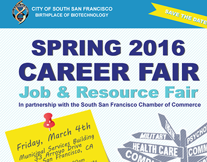City of South San Francisco | 2016 Career Fair