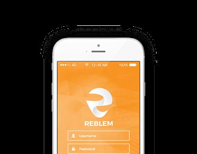 Reblem Mobile App Design