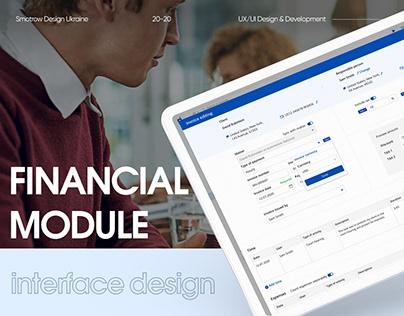 Jusnote Financial Module | The UX/UI Design