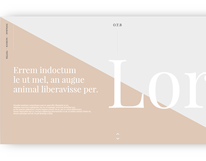 nude colors web and app design