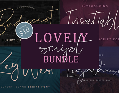 Lovely Script Bundle