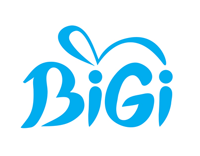 BiGi Mobile App [ Logo, Character and UI Design ]