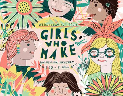 Girls Who Make: April