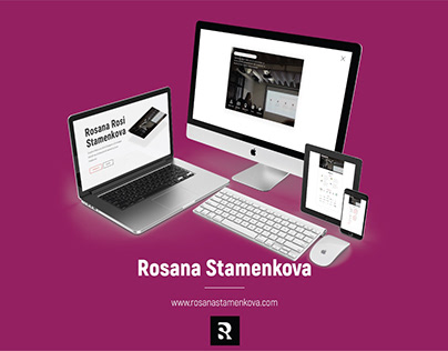 Web Design & Development - Rosanastamenkova.com | Web