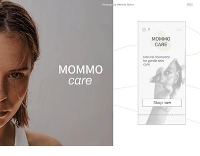 Mommo care / e-store redesign