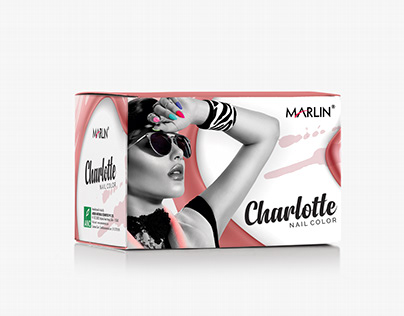 Nail Color packaging design