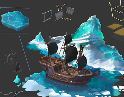 Pirate ship concept
