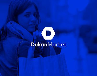 Dukan Market - Logo design