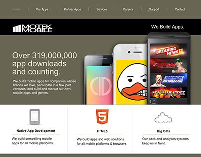Motek Mobile : Web Site