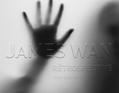 Retrospective poster of James Wan